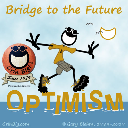 Optimism is a Bridge to the Future. This is Optimism #ThisIsOptimism