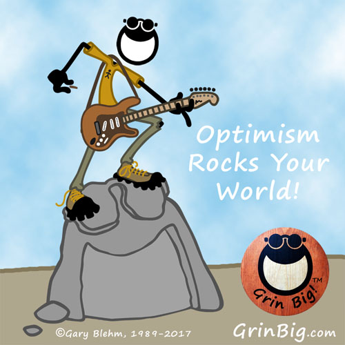 Optimism Rocks Your World! Penman the Optimist with Rock Guitar. This is Optimism #ThisIsOptimism